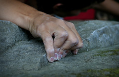 The Beauty of Bouldering Gestures