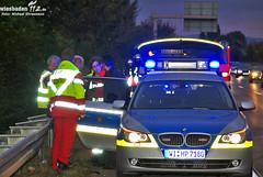 Fahrer flieht nach Unfall A66 Erbenheim 04.10.09