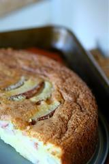 Unsugared Pear Cream Cake