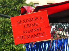 Sexism is a crime against humanity!