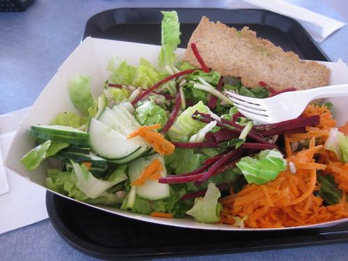 raw food lunch