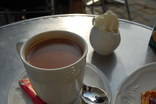 Véritable Chocolat Chaud Wittamer avec Chantilly