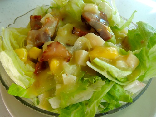 Lettuce With Hot Bacon Dressing - Fattening?