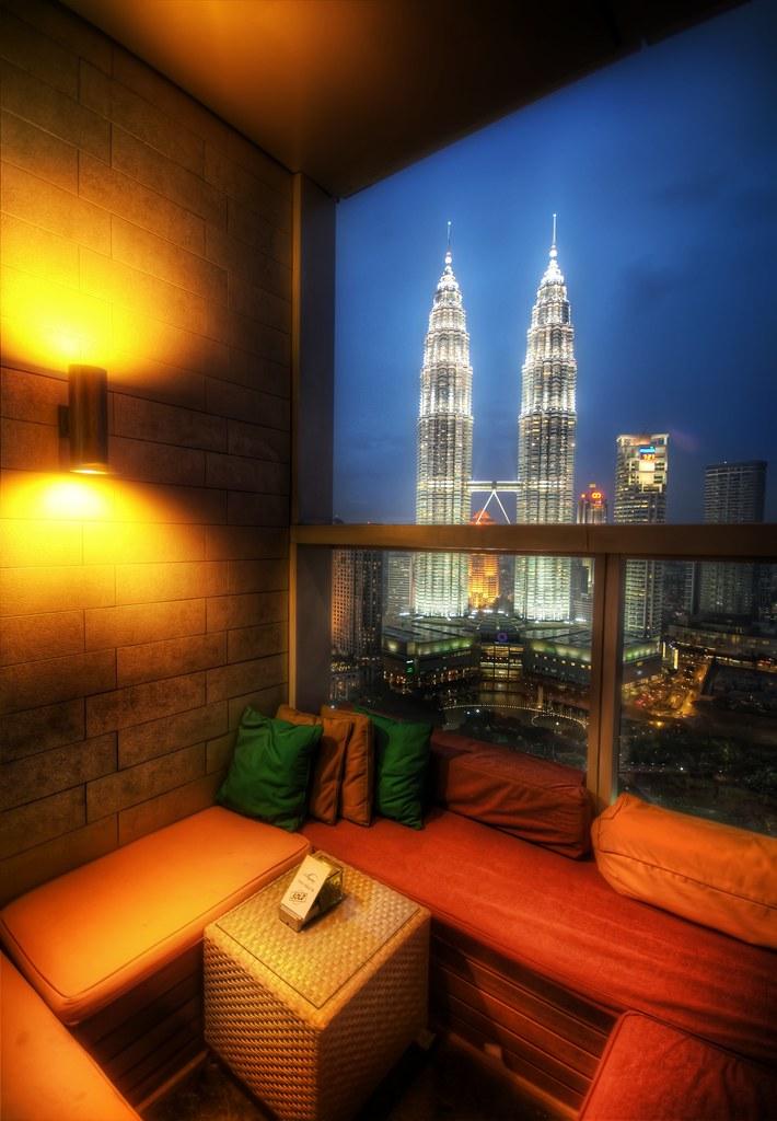 An Open Air Lounge in Kuala Lumpur