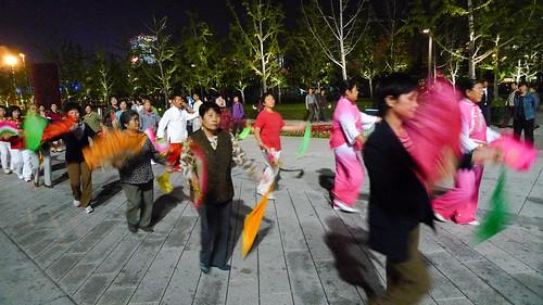 Line dancing?