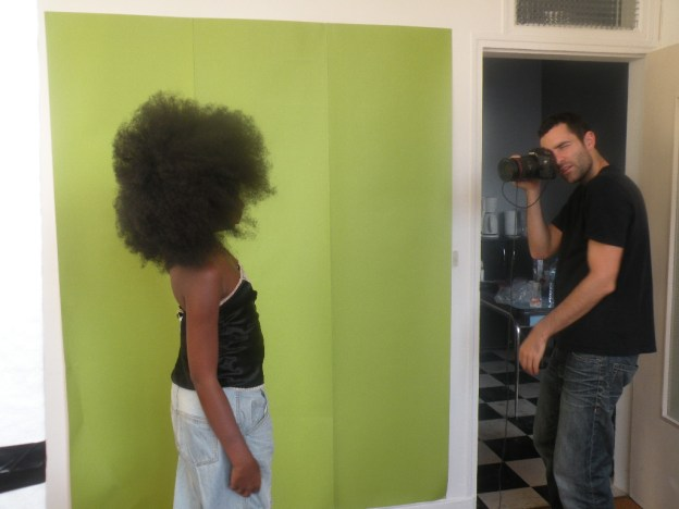 OUR FIRST SHOOT BACKSTAGE 165