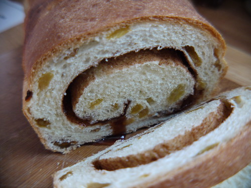 Cinnamon Raisin Bread - sliced