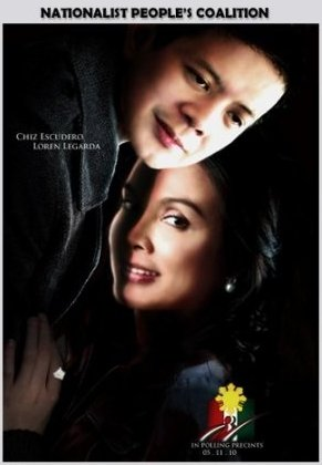 A Twilight spoof with Chiz Escudero and Loren Legarda, their possible team-up for the NP Party highlighted here.