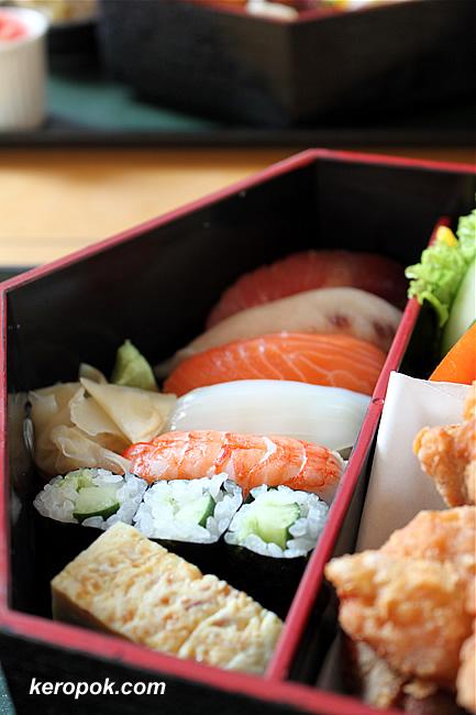 7 types of sushi