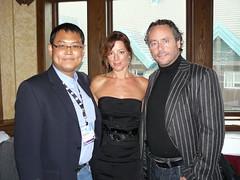 Sarah, Brett & me