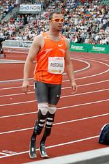 Oscar Pistorius på Bislett Games 2009