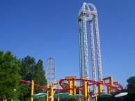 Cedar Point - Power Tower, TTD, Iron Dragon