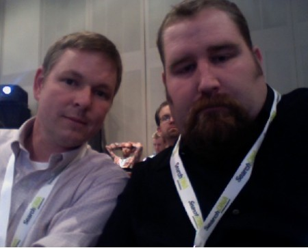 Picture of Mat Siltala and Will Scott at SMX West