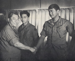 Governor Camacho with Chamorro Servicemen