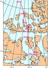 Deriva polo norte