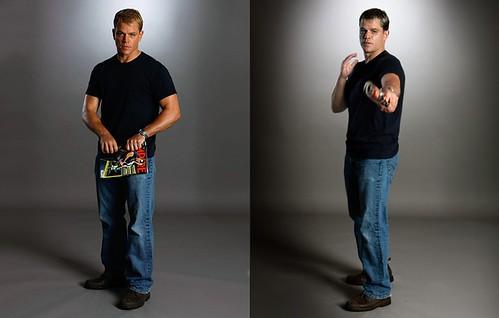 """Matt Daaaaamon """"Bourne"""""""