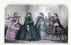 March 1860 Godey's Lady's Book Fashion Plate
