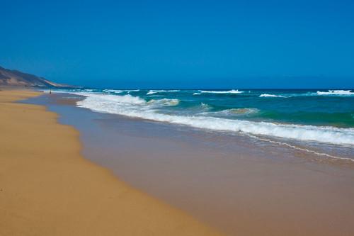 Playa solitaria