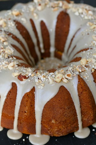 Kabocha-Maple Sour Cream Coffee Cake 2