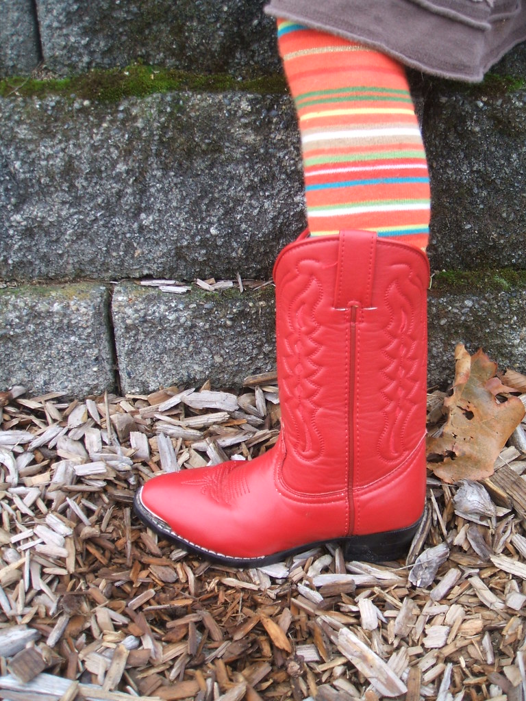 Borrowed cowgirl boots