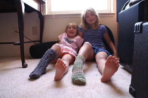 kids knit socks 2