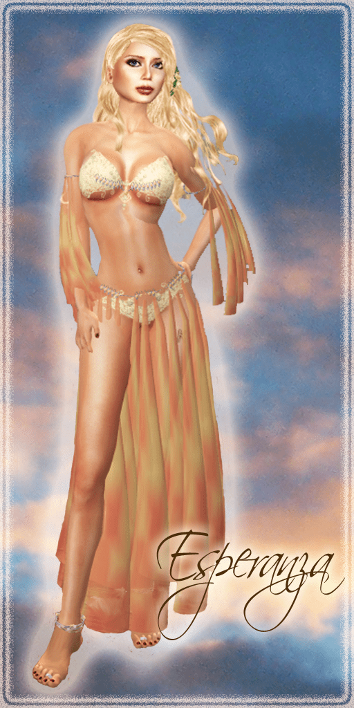Esperanza Peach by Silk & Satyr