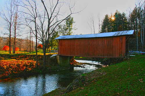 Jacks Creek Covered Bridge