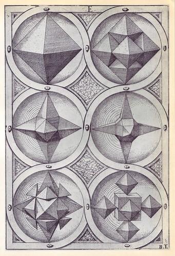 Aer - Perspectiva Corporum Regularium -  Wenzel Jamnitzer 1568