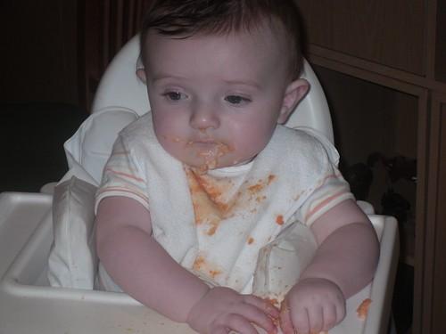 When I feed myself...