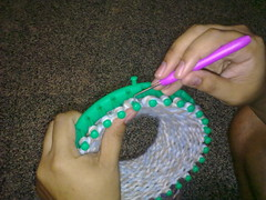 Joe and Knitting Loom