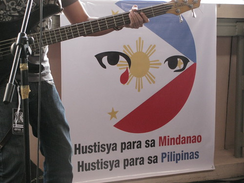 Justice for Mindanao poster