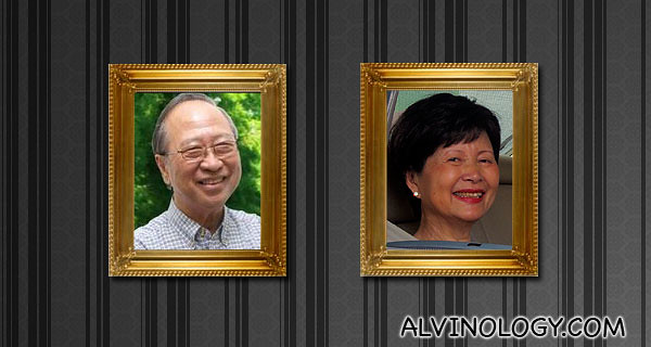 Mr and Mrs Tan Cheng Bock