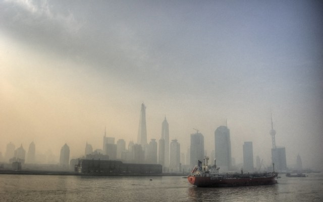 Winter in Shanghai.