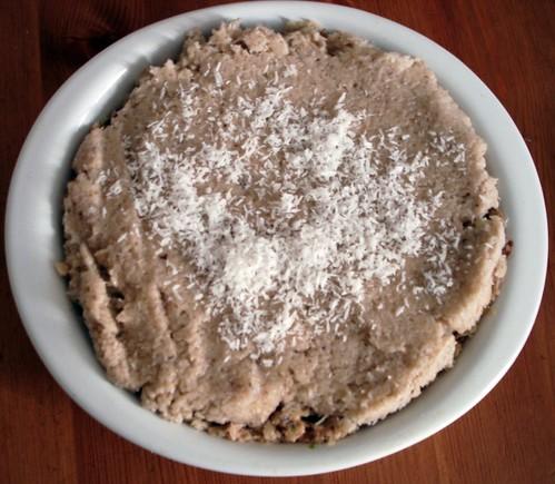 Raw Coconut Cream Pie