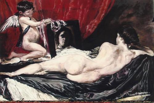 Vénus au miroir - Velazquez