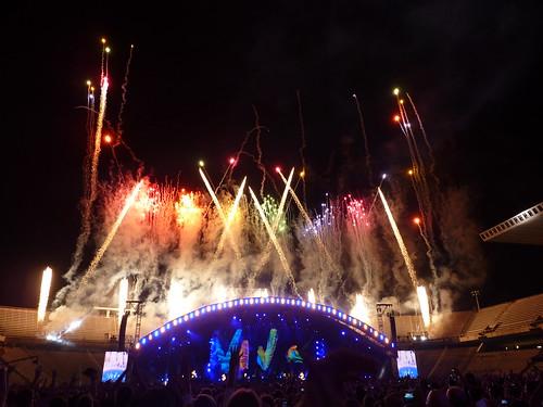 Concert de Coldplay