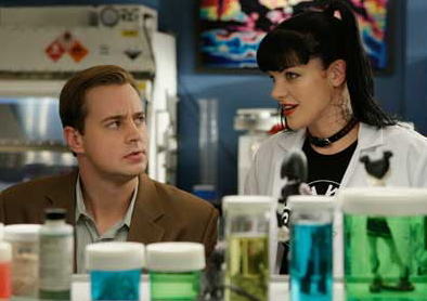 McGee and Abby © CBS