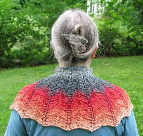 Jagged Cowl Back