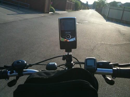 BikeCam test ride