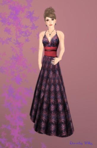 inara - orient flower gown