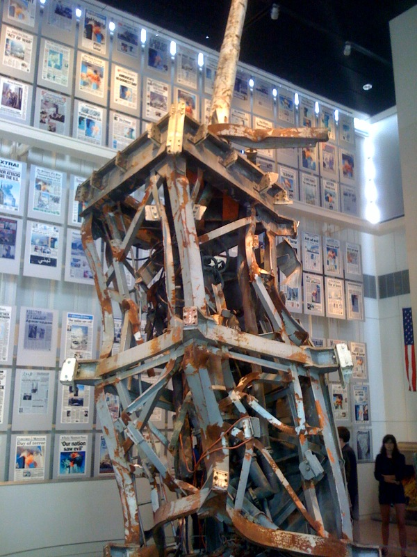 The Newseums 9/11 exhibit