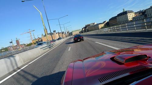 Morgonrace i Stockholm