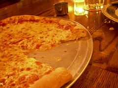 pizza at Pi Bar