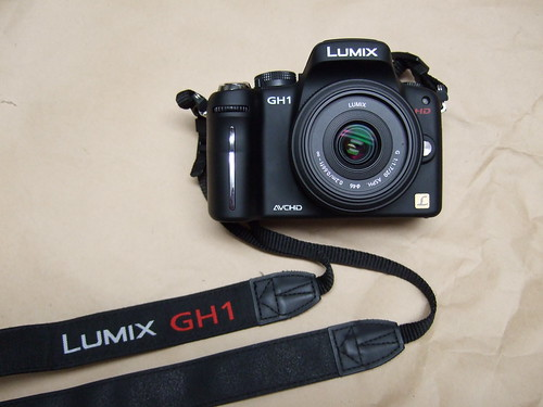 Panasonic GH1 with 20mm f1.7 pancake