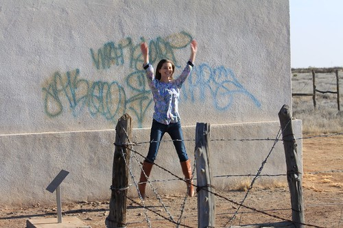 Jumping for Joy in Marfa