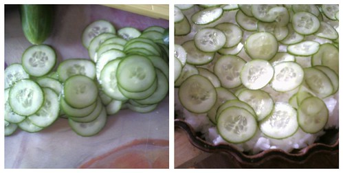 cucumbers collage