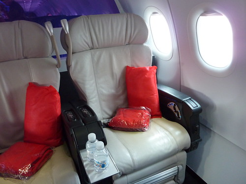 Virgin America First Class Seats