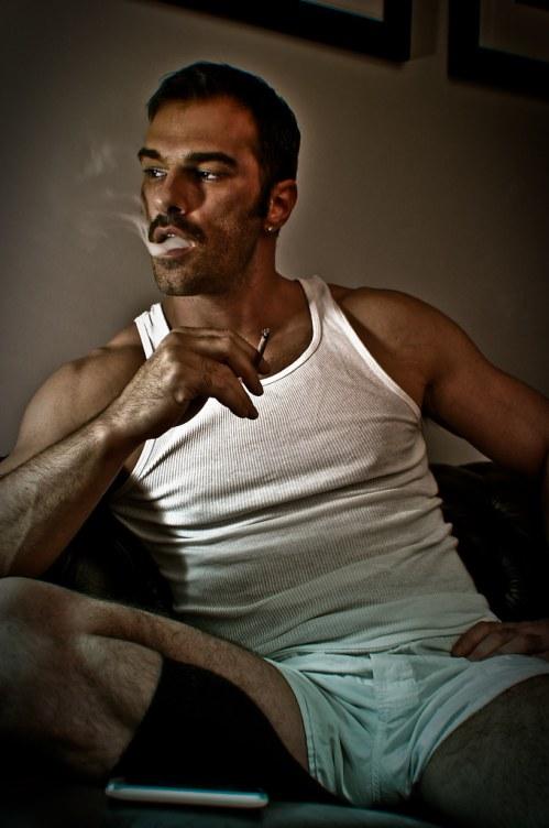Alessandro Calza Shirtless