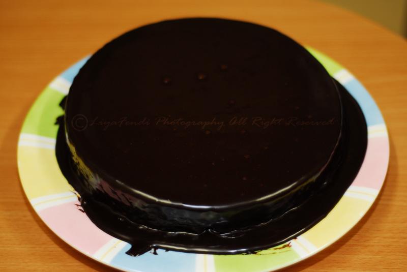 Moist Choc Cake Kak Suhaila
