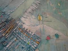 Claudia's painting close up